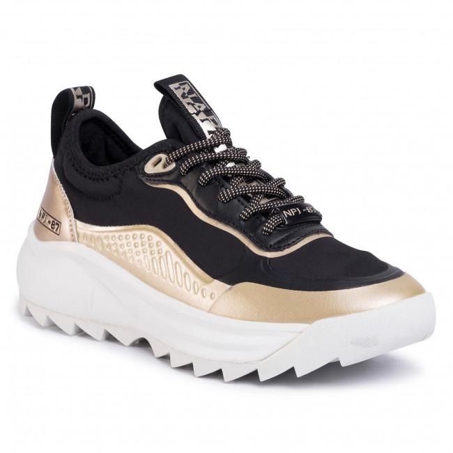 Sneakers NAPAPIJRI - Flint NP0A4ET80 Black/Gold 2I1