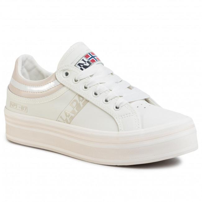 Sneakers NAPAPIJRI - Nest NP0A4ESW0 Bright White 021