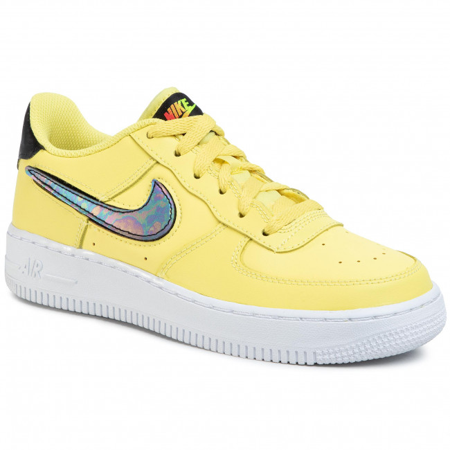 Academia Precaución Específicamente  Shoes NIKE - Air Force 1 Lv8 3 (Gs) AR7446 700 Yellow  Pulse/Black/White/White - Sneakers - Low shoes - Women's shoes |  efootwear.eu