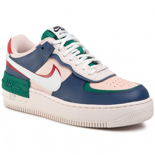 Shoes Nike Af1 Shadow Ci0919 400 Mystic Navy White Echo Pink