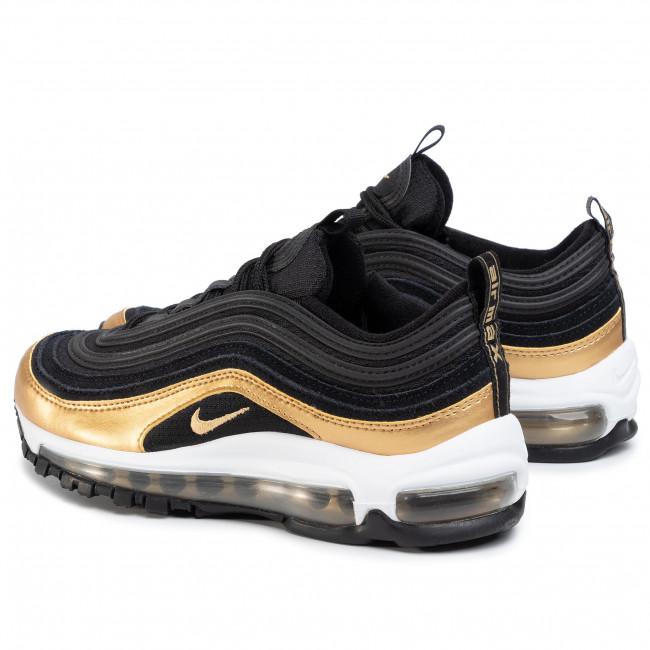 Shoes NIKE Air MAx 97 (GS) 921522 014 BlackMetallic Gold