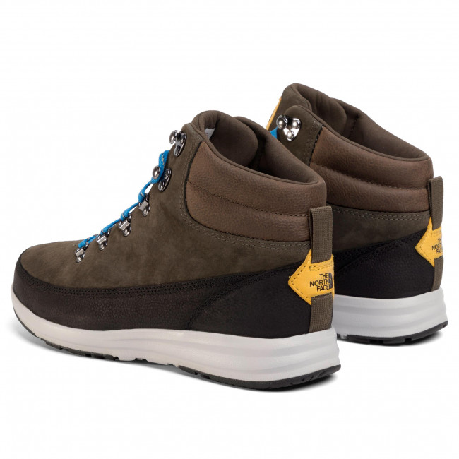 Trekker Boots THE NORTH FACE Back To Berkeley Redux Remtlz Lux NF0A3WZZBQW New Taupe GreenTnf Black