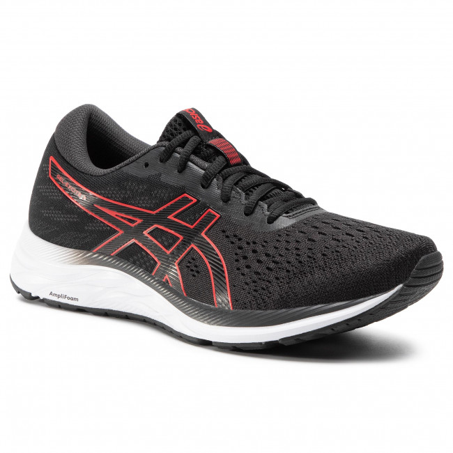 Shoes ASICS - Gel-Excite 7 1011A657 Black/Classic Red 004