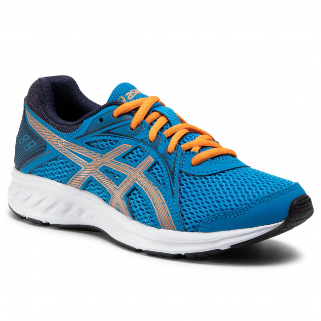 Shoes ASICS - Jolt 2 Gs 1014A035 Directoire Blue/Orange Cone 409