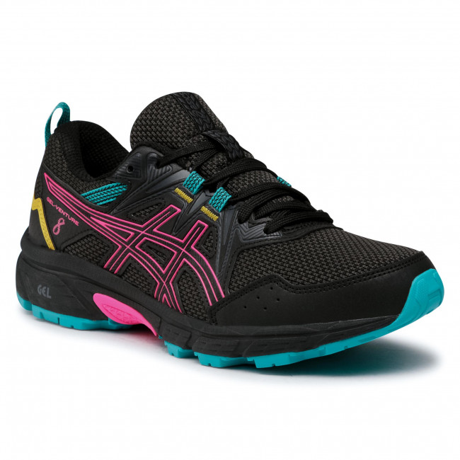 Footwear ASICS - Gel-Venture 8 1012A708 Black/Pink Glo 003