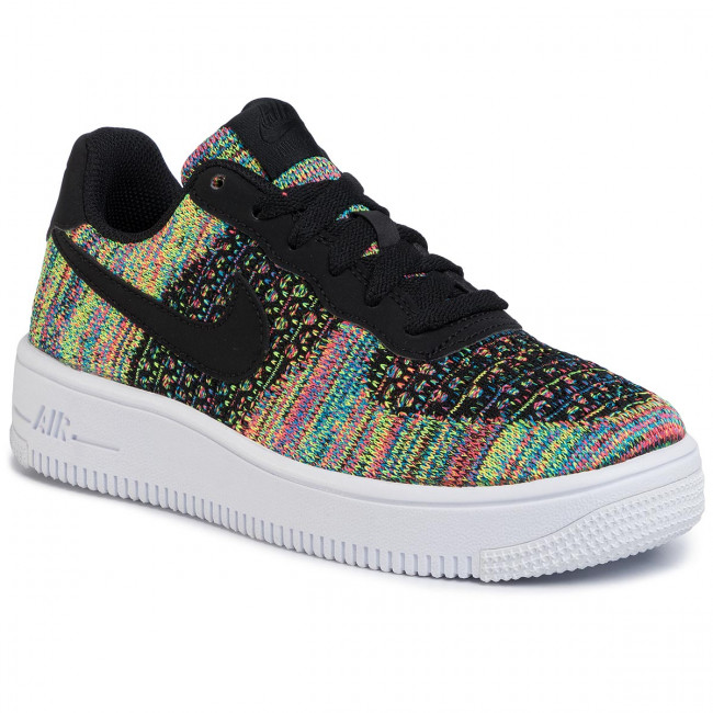 Risa Pirata Registrarse  Shoes NIKE - Air Force 1 Flyknit 2.0 (Gs) BV0063 002 Black/Black/Hyper  Pink/Volt - Sneakers - Low shoes - Women's shoes | efootwear.eu