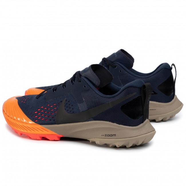 Shoes NIKE Air Zoom Terra Kiger 5 AQ2219 402 ObsidianBlackLaser Crimson