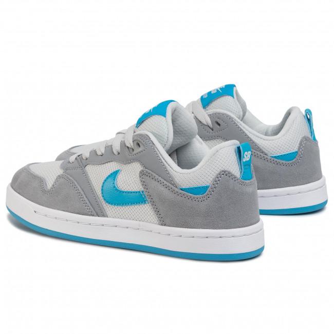 Shoes NIKE - Sb Alleyoop (GS) CJ0883 002 Particle Grey/Laser Blue