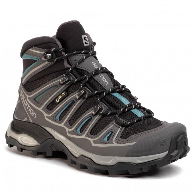 Trekker Boots SALOMON X Ultra Mid 2 Spikes Gtx GORE TEX