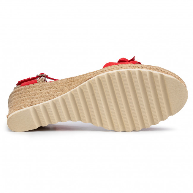Espadrilles Xti - 44021 Red Mules And Sandals Women's Shoes