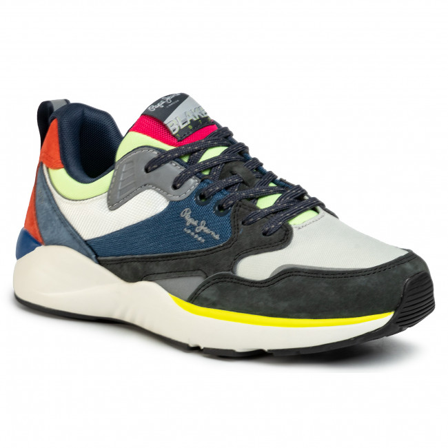 Sneakers PEPE JEANS - Blake X73 PMS30596  Antracite 982