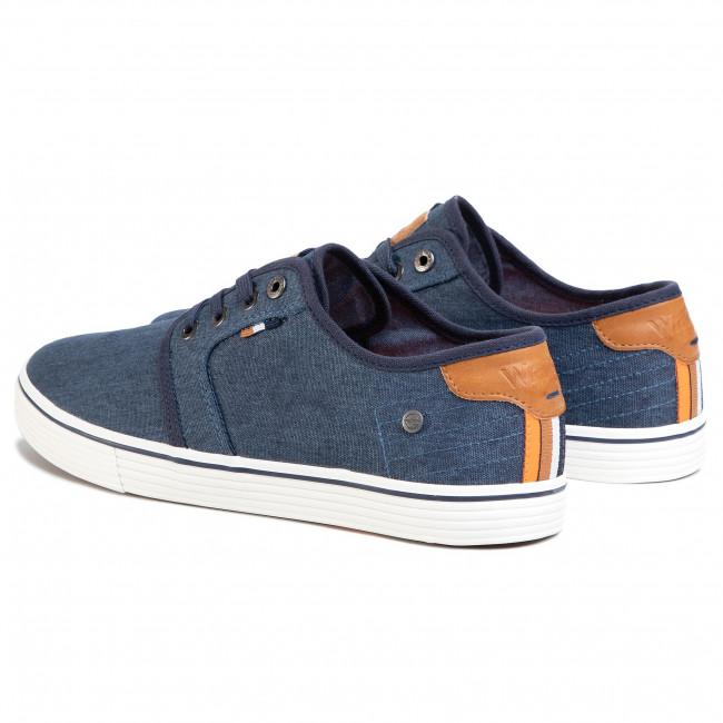 Plimsolls WRANGLER - Odyssey Derby WM01040A  Royal 014 - Plimsolls - Low shoes - Men's shoes