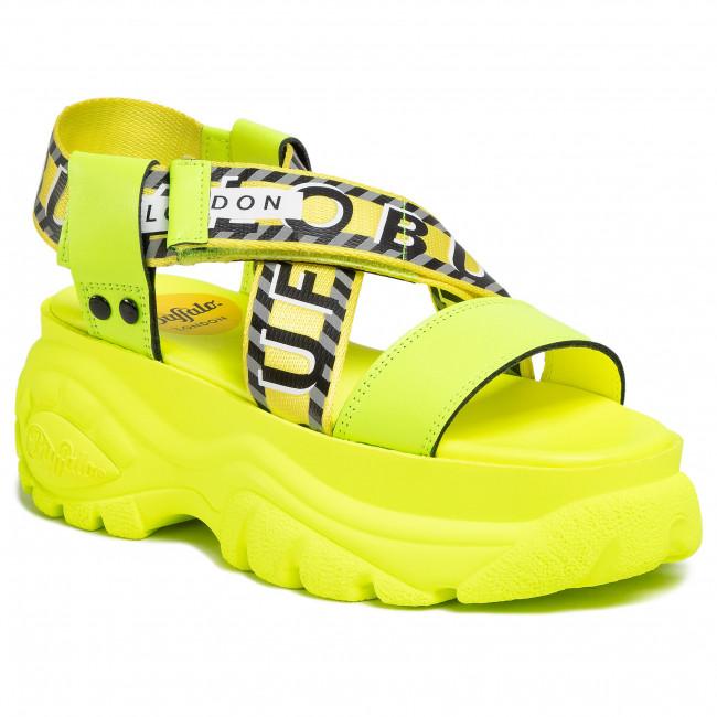Buffalo 1339-14 2.0 Leather Neon Yellow