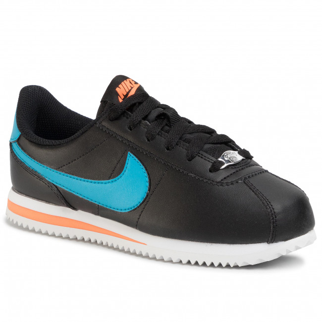 aliviar líquido carbón  Shoes NIKE - Cortez Basic Sl (GS) 904764 006 Black/Laser Blue ...