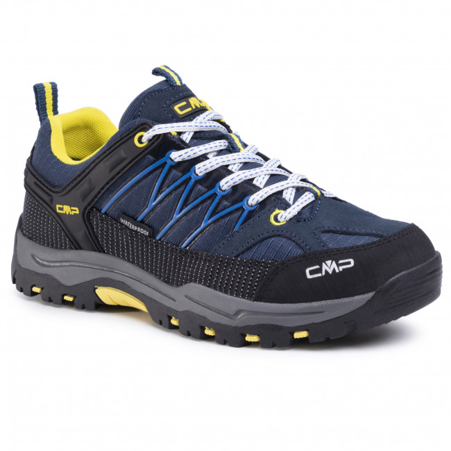 Trekker Boots CMP - Kids Rigel Low Trekking Shoe Wp 3Q54554J Cosmo/Lemonade 08NE