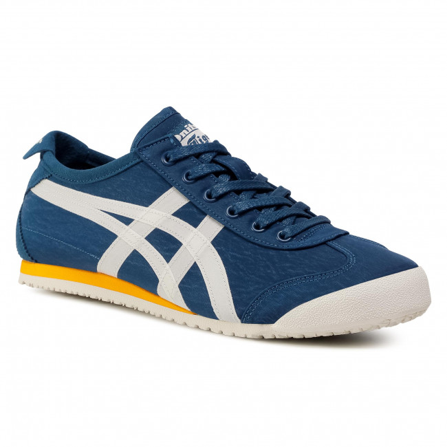 onitsuka tiger mexico 66 black blue suede shoes