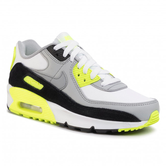 Shoes NIKE Air Max 90 Ltr (GS) CD6864 101 WhiteParticle Grey