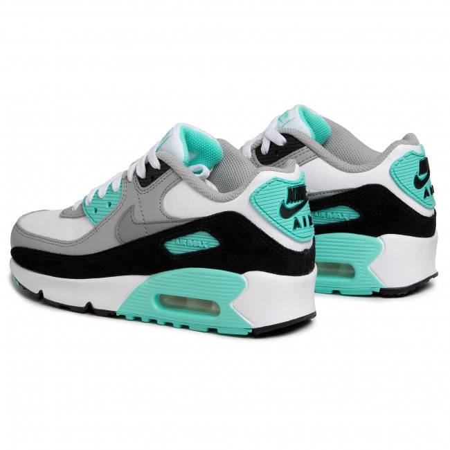 Nike Air Max 1 Youth GS kids shoes white grey neon