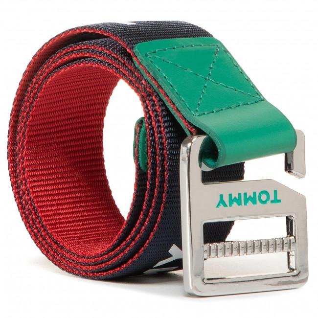 Kids' belt TOMMY HILFIGER - Kids Webbing Belt AU0AU00990 0H7