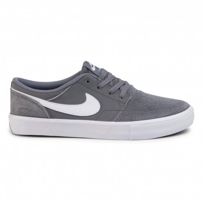 Shoes NIKE - Nike Sb Portmore II Solar 880266 010 Cool Grey/White/Black
