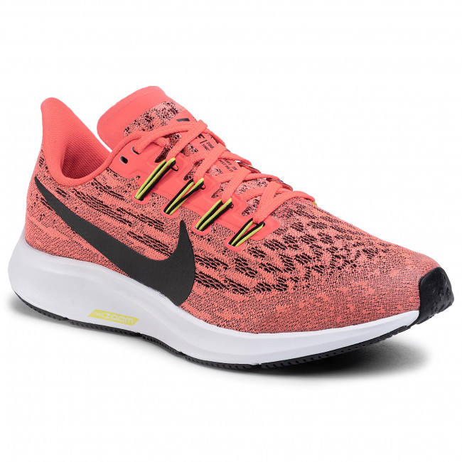 Red de comunicacion Ajustamiento pistola  Shoes NIKE - Air Zoom Pegasus 36 GS AR4149 619 Laser Crimson/Black - Indoor  - Running shoes - Sports shoes - Women's shoes | efootwear.eu