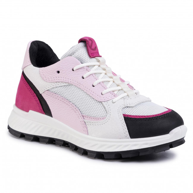 Sneakers ECCO - Exostrike Kids 76185351792 Black/Sangria/White/Blossom Rose