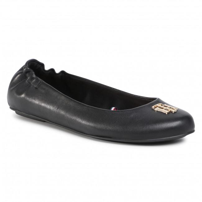 Flats TOMMY HILFIGER - Th Hardware Ballerina FW0FW05120 Black BDS