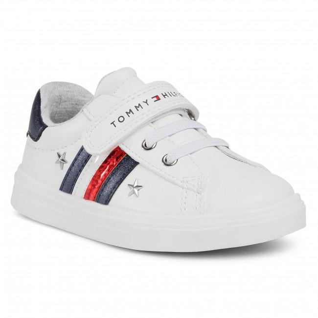 Trainers TOMMY HILFIGER - Low Cut Lace T1A4-30780-1032 S White/Blue X008