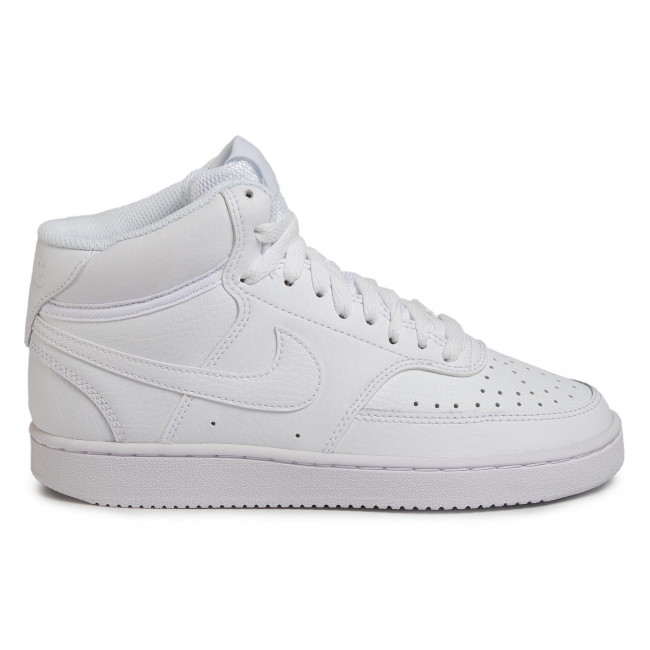 Individualidad tráfico Pepino  Shoes NIKE - Court Vision Mid CD5436 100 White/White/White - Sneakers - Low  shoes - Women's shoes | efootwear.eu
