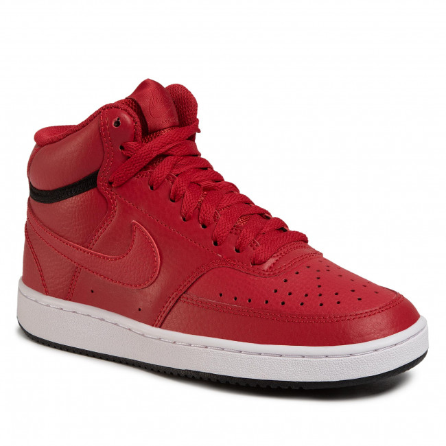 sufrimiento llave inglesa Cuna  Shoes NIKE - Court Vision Mid CD5436 600 Gym Red/Gym Red-Black - Sneakers -  Low shoes - Women's shoes | efootwear.eu