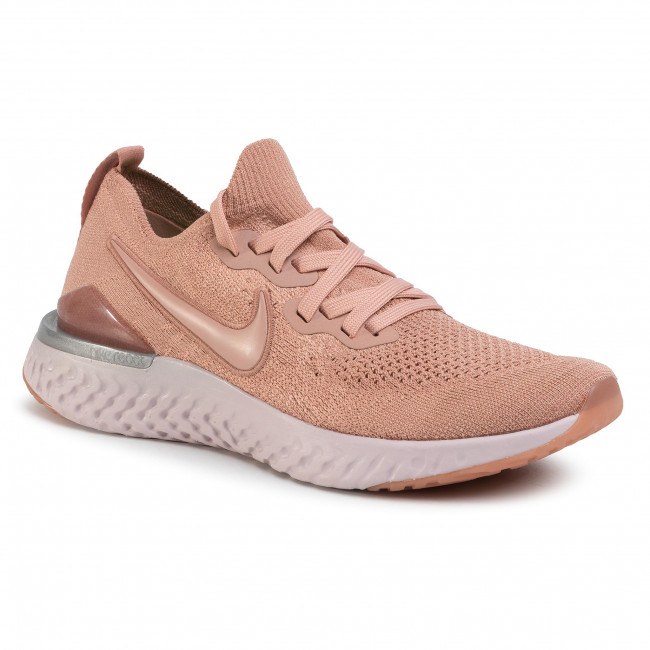nike epic react flyknit 2 white rose gold