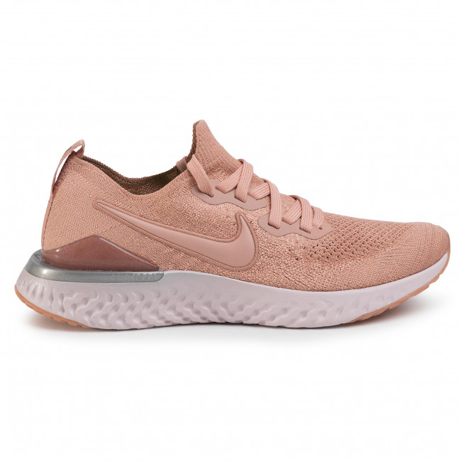 nike epic react flyknit rose gold