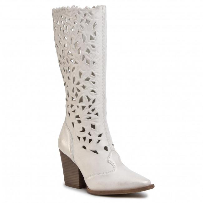 Knee High Boots R.POLAŃSKI - 1086 Złoty Przecierany