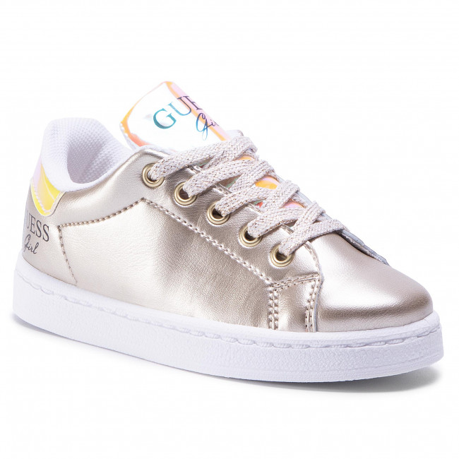 breaking Dawn Cyber space ceiling  Sneakers GUESS - Lucy FI7LUC ELE12 GOLD - Laced shoes - Low shoes - Girl -  Kids' shoes   efootwear.eu