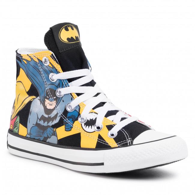 Sneakers CONVERSE Ctas Hi 167304C BlackWhiteLemon Chrome