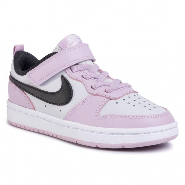 Shoes NIKE Court Borough Low 2 (PSV) BQ5451 005 Photon DustOff Noir