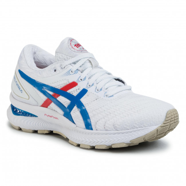 Shoes ASICS Gel Nimbus 22 1012A665 WhiteElectric Blue 100