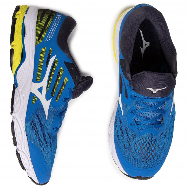 Shoes MIZUNO - Wave Stream 2 J1GC191927  Blue - Indoor - Running shoes - Sports shoes - Men's shoes