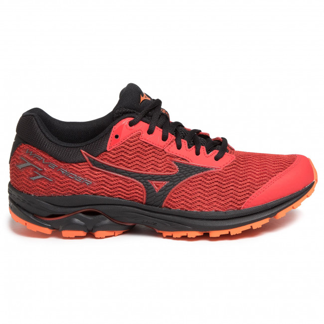 Buty MIZUNO - Wave Rider TT J1GC193209 Czerwony - Indoor - Running shoes - Sports shoes - Men's shoes