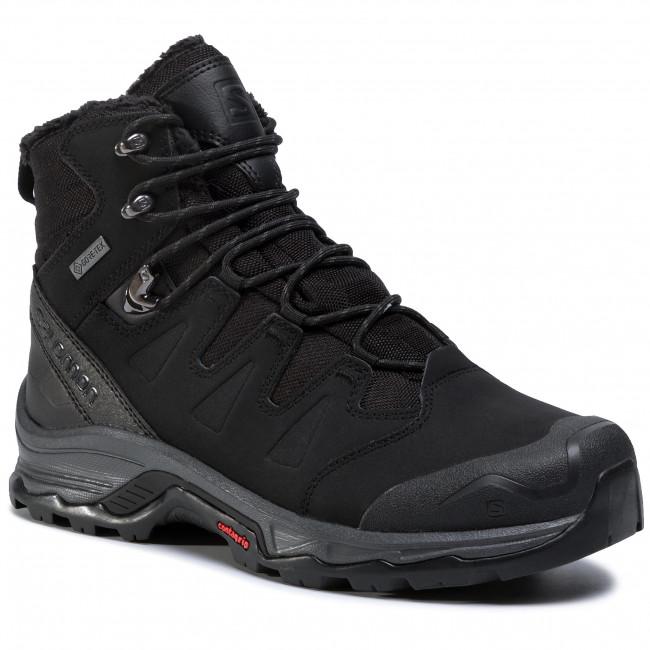 Trekker Boots SALOMON - Quest Winter Gtx GORE-TEX 411103 27 V0 Black/Ebony/Black