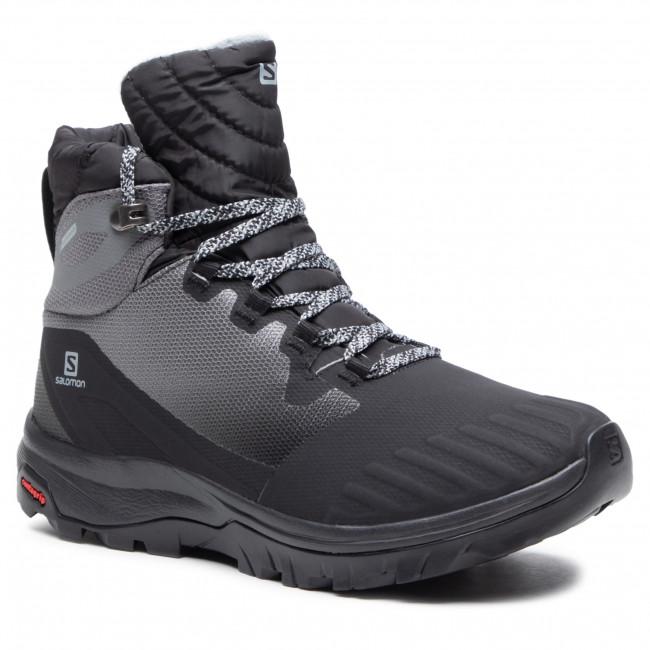 Trekker Boots SALOMON - Vaya Blaze Ts Cswp 411132 20 V0 Black/Black/ Quiet Shade