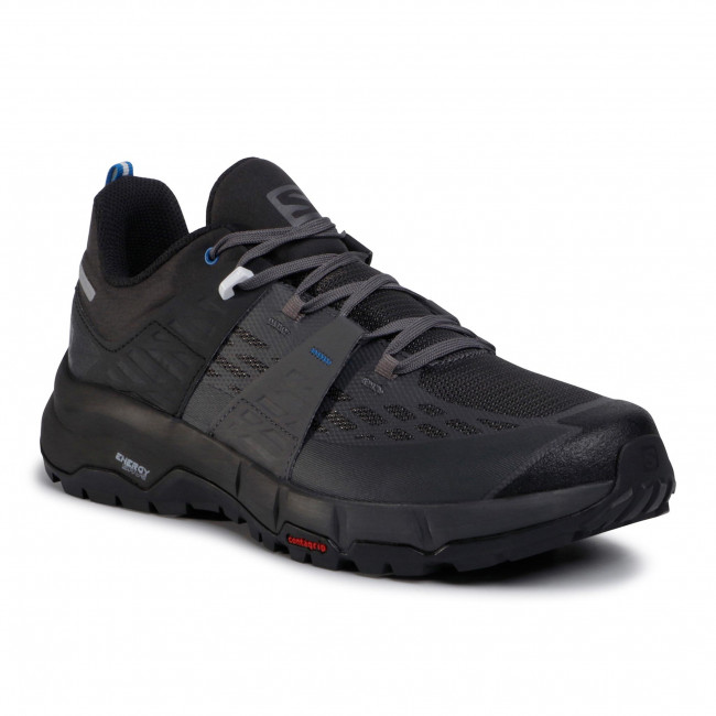 Trekker Boots SALOMON - Odyssey 411453 27 V0 Black/Magnet/Imperial Blue