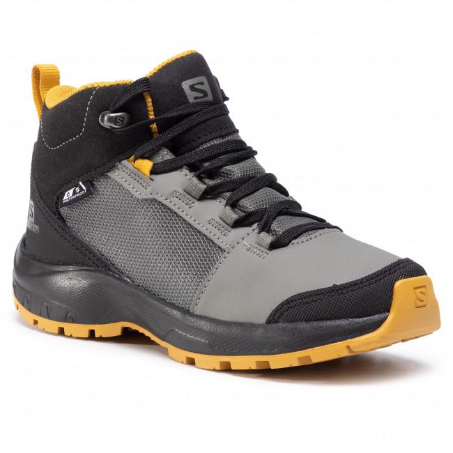 Trekker Boots SALOMON - Outward Cswp J 409722 09 W0 Castor Gray/Black/Arrowwood