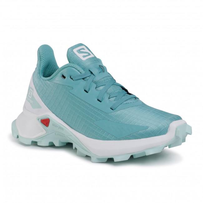 Footwear SALOMON - Alphacross Blast J 411162 09 W0 Meadowbrook/White/Icy Morn