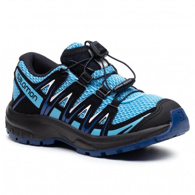 Trekker Boots SALOMON - Xa Pro 3D J 41244 09 W0 Ethereal Blue/Surf The Web/White