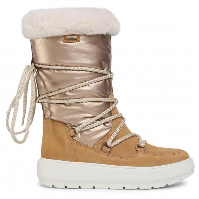 Ahuyentar decidir Semejanza  Snow Boots GEOX - D Kaula B Abx C D94AWC 022FU C5006 Camel - Winter boots -  High boots and others - Women's shoes   efootwear.eu