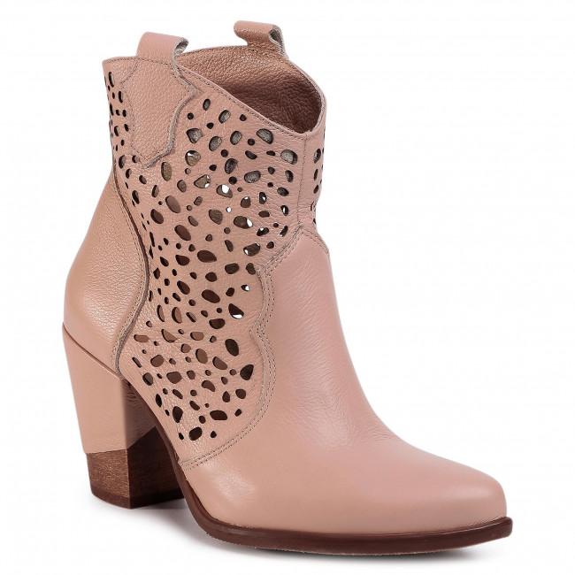 Boots R.POLAŃSKI - 1079 Verona Różowa