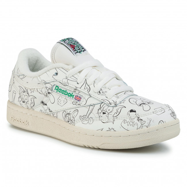 Shoes Reebok Club C 85 Mu FX4012 ChlgrnPapwhtGlegrn