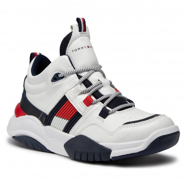 Trainers TOMMY HILFIGER - T3B4-30945-0815 S White 100
