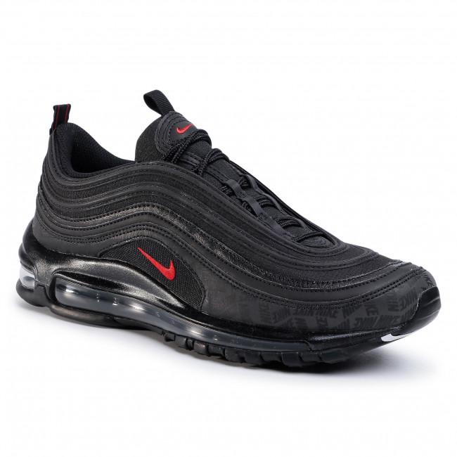 Shoes NIKE Air Max 97 AR4259 001 BlackUniversity RedBlack